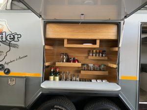 BorderX - outside kitchen